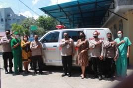 RSB Kupang Dapat Hibah Satu Unit Mobil Ambulance