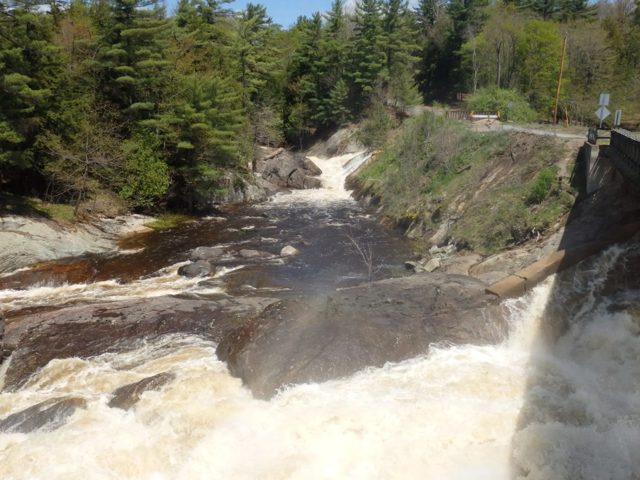T-Bone Falls, Moose River, Lewis County, New York