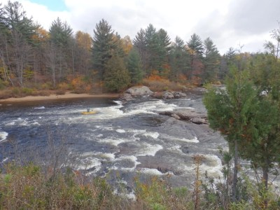 Fowlersville Bridge Rapids, Lewis County, New York