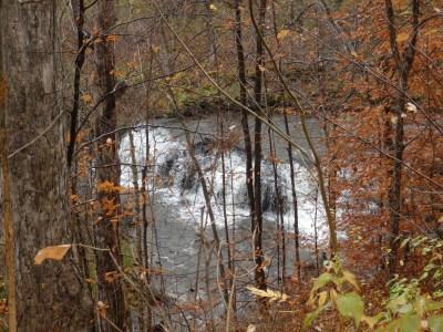 Mill Creek, falls on, Boonville, Oneida County, New York