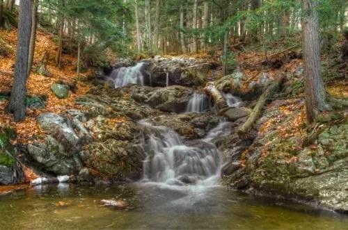 Picnic Table Falls waterfall