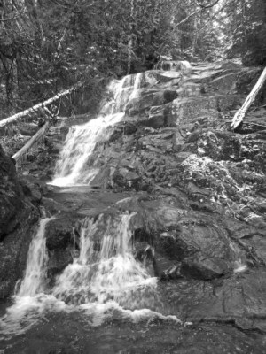 Whiteface Brook Falls