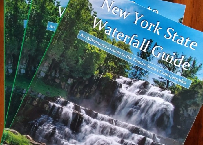New York State Waterfalls Guide book