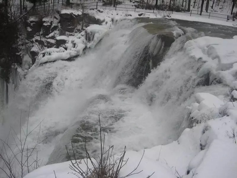 Chittenango Falls, Madison County, Ny 2-17-2018
