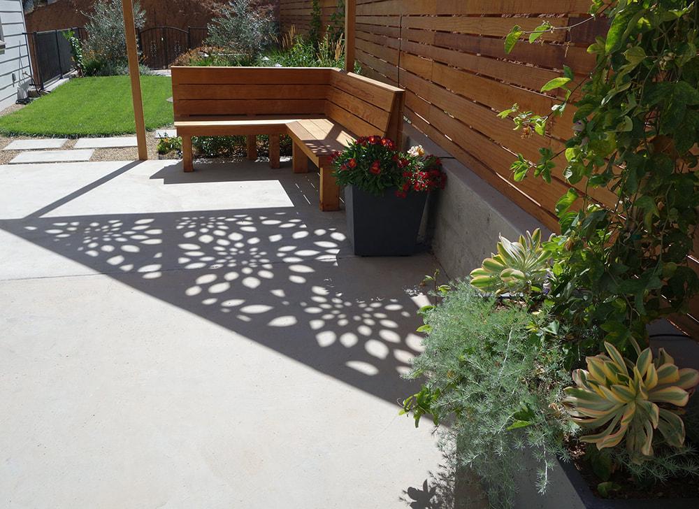 Narrow Napa Back Yard Design Dig Your Garden Landscape