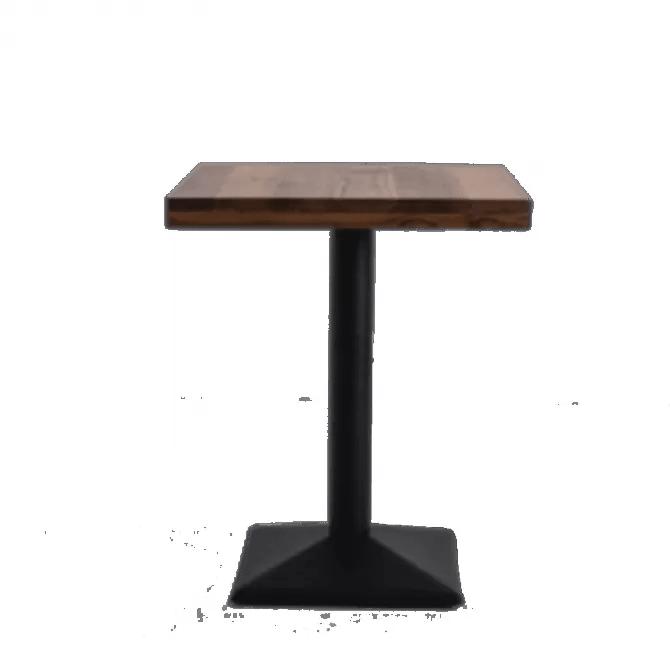 table carree pour professionnels en bois table pour horeca diiiz