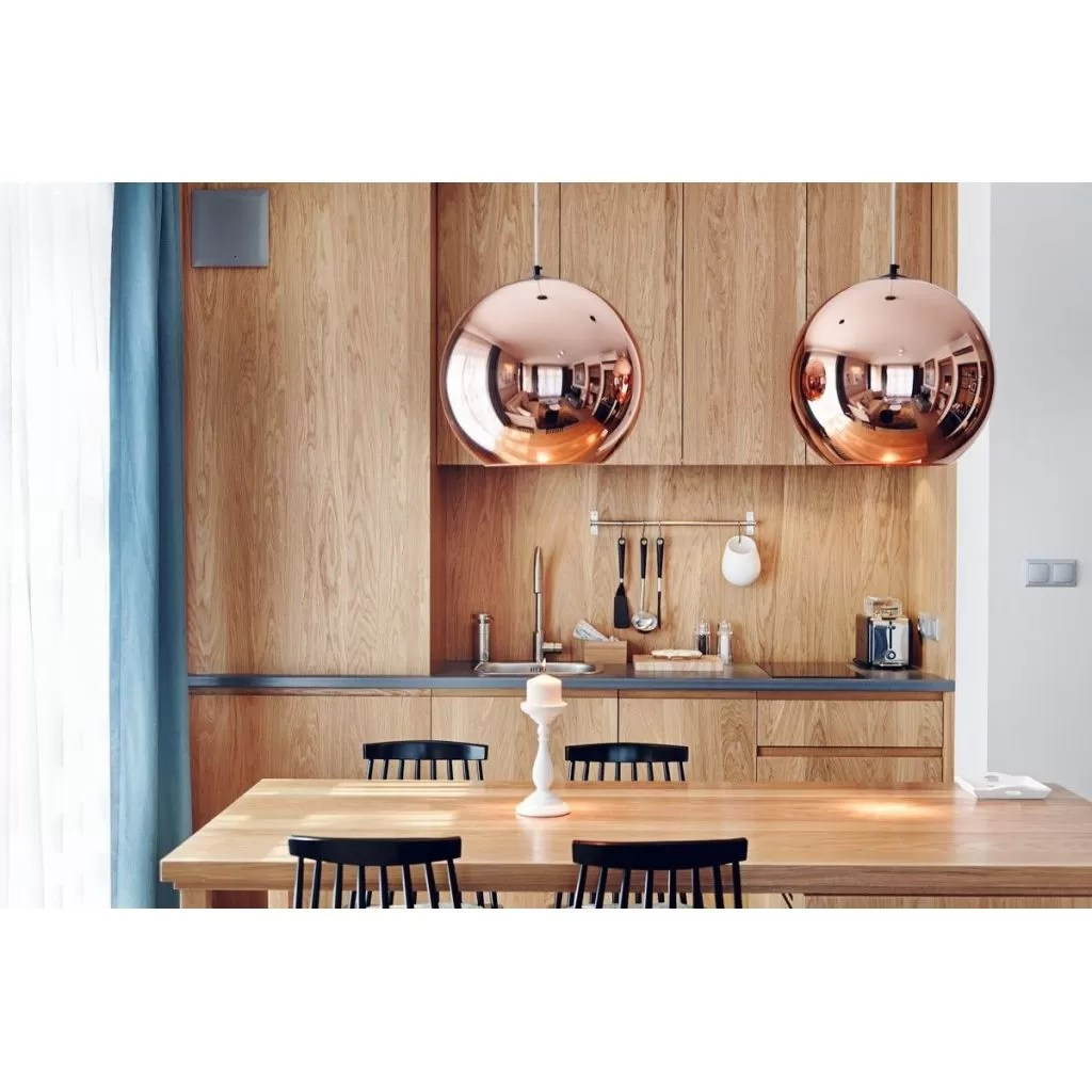 Copper Shade hanglamp  reproductie Tom Dixon