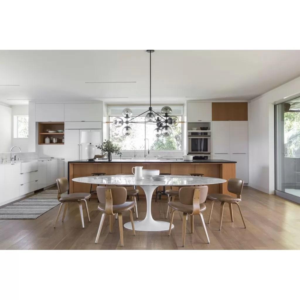 Table ovale Tulipe Marbre  reproduction Knoll Eero Saarinen