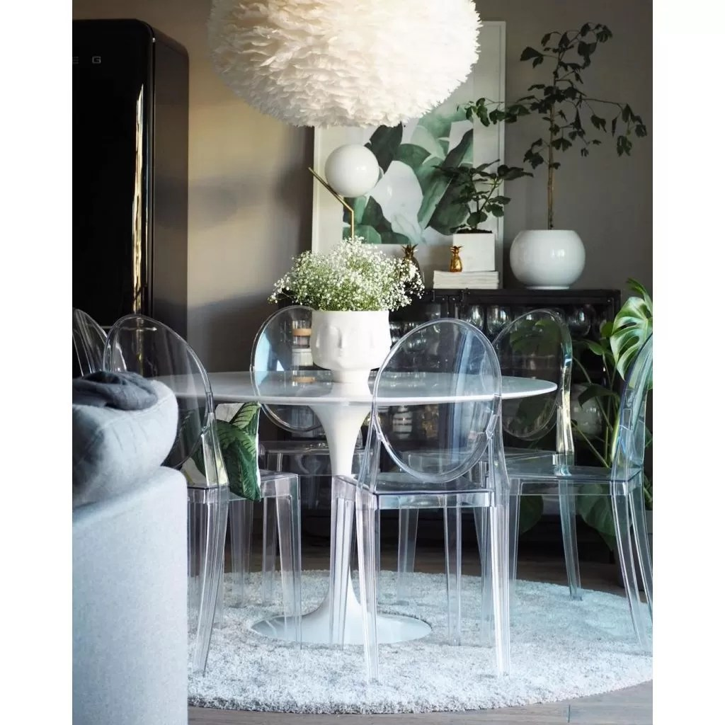 Victoria Ghost Kartell Chair  Reproductie Philippe Strack