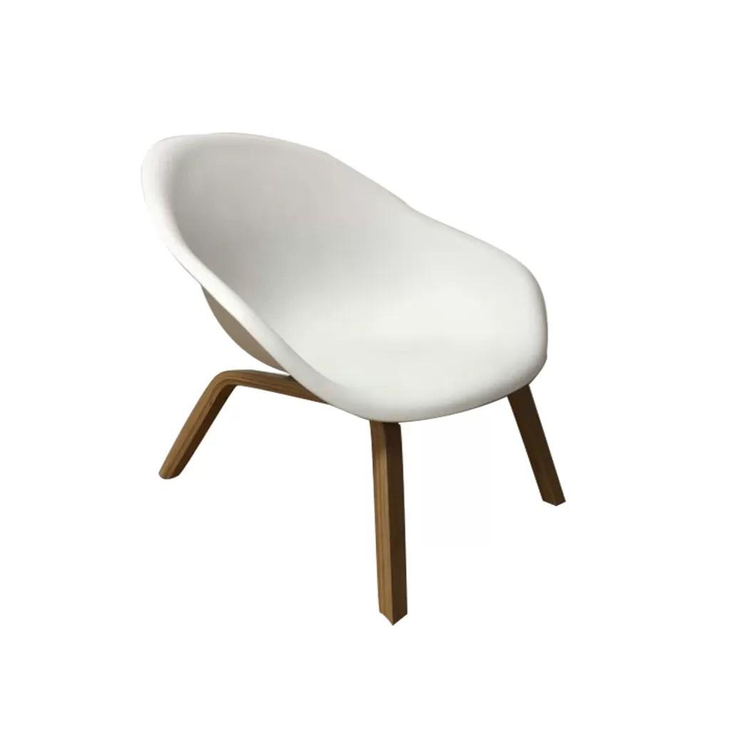 pvc lounge chair high argos aal82 plastic hay replica