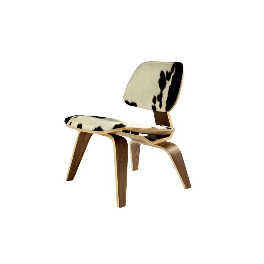 LCW koeienhuid stoel  Reproductie Charles Eames