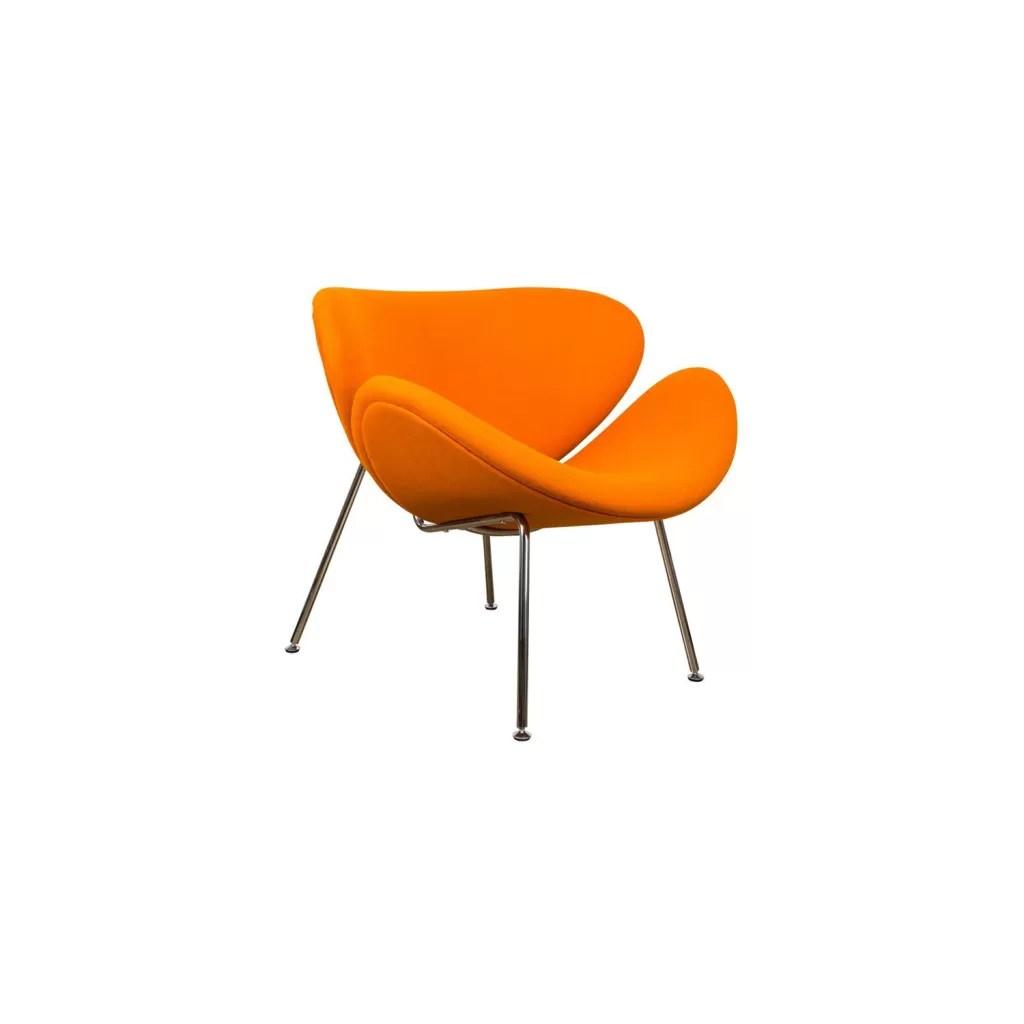 orange slice chair chairs dining room replica pierre paulin artifort