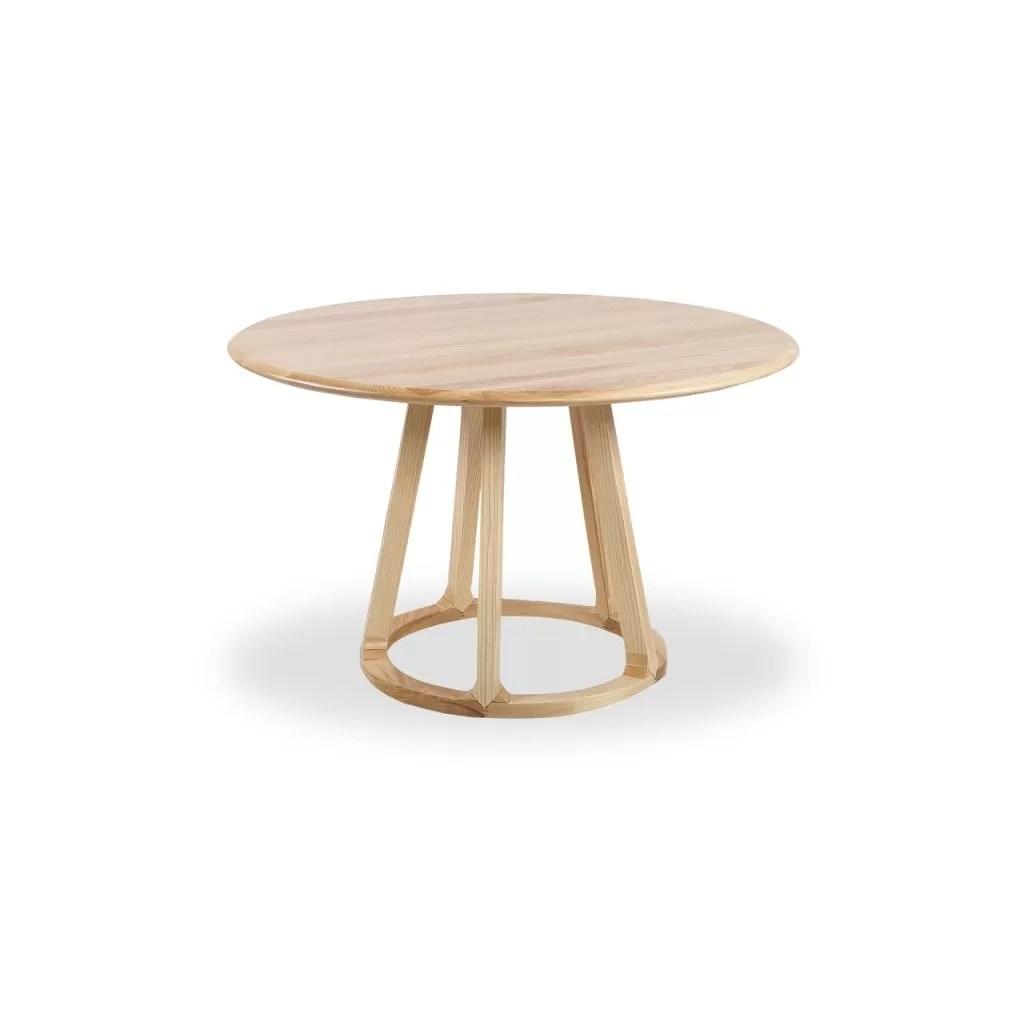 table ronde bois massif table de luxe qualite diiiz