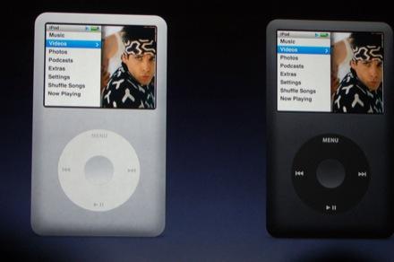 Nouveau Apple iPod Classic alu