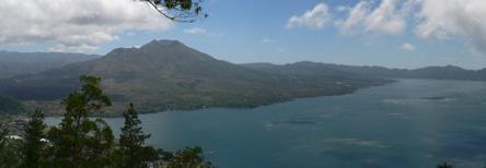 Le volcan Batur