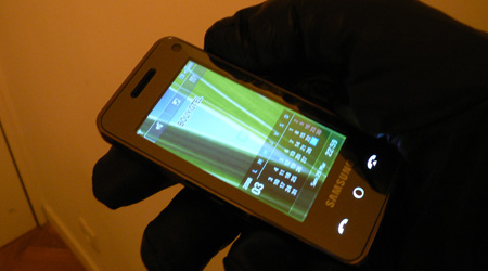 Samsung F490 Player test review