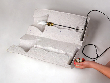 Packaging lamp David Gardener