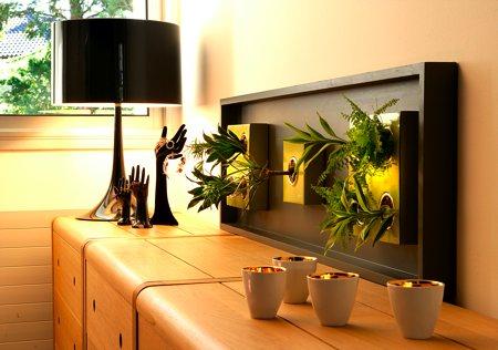 Flowerbox tableau végétal