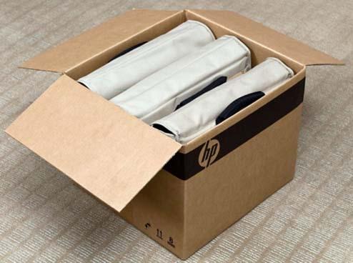 Ordinateur HP Pavilion sans emballage livré dans sa sacoche