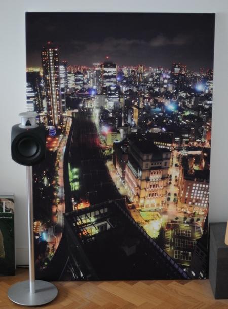 tirage de photo sur toile avec Mydesign et une Beolab 3