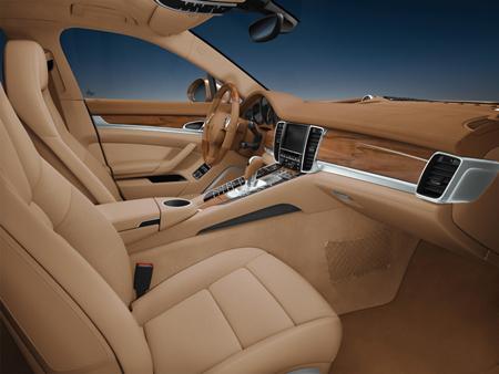 Porsche Panamera intérieur