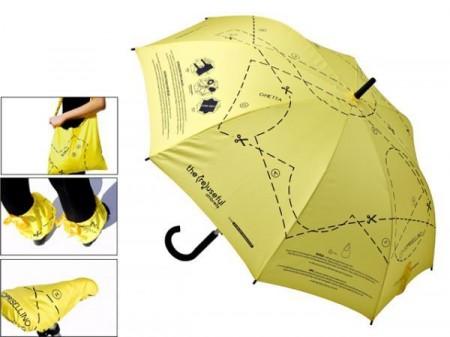 The re-useful umbrella par Creativando