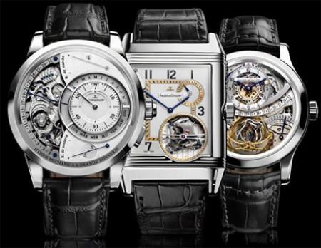 jaeger lecoultre triology hybris mechanica 55 montres