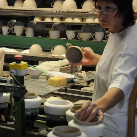 Usine de porcelaine Guy Degrenne d'Alföld