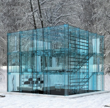 glass concept house