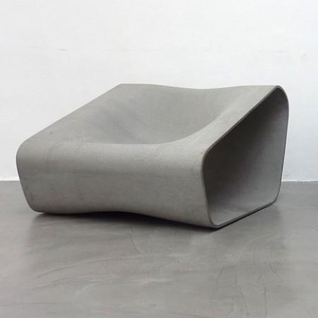 Dune par Rainer Mutsch : meubles d'extérieur en fibro ciment