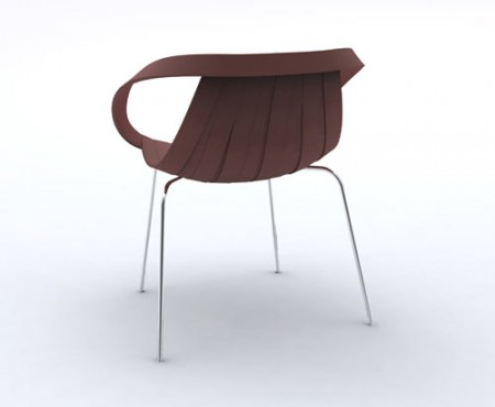[Milan 2011] Impossible Wood par Doshi Levien chez Moroso