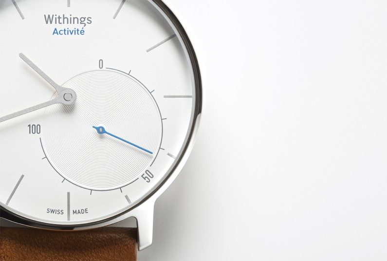 withings-activite montre capteur