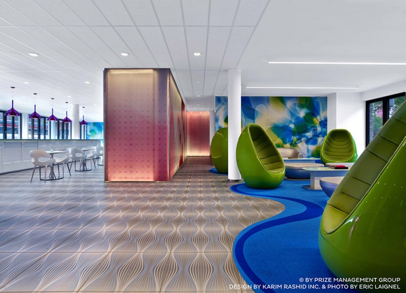 prizeotel Hamburg-City - design by Karim Rashid Inc. & Photo by Eric Laignel