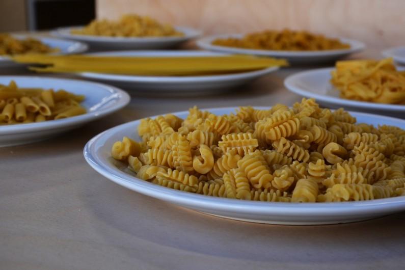 Des pâtes Italiennes