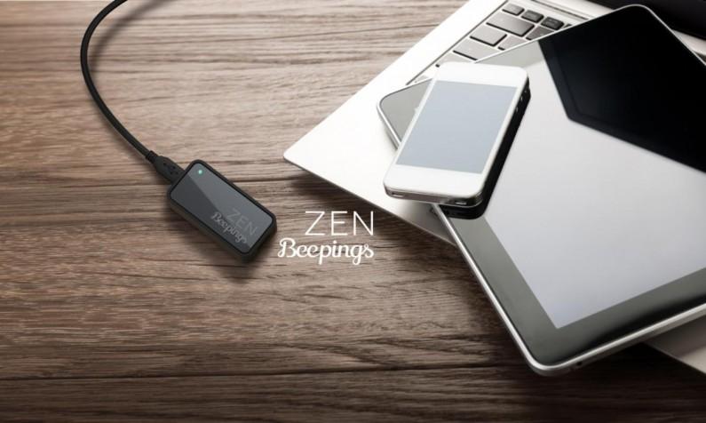 beepings Zen Indiegogo trackeur GPS autonome