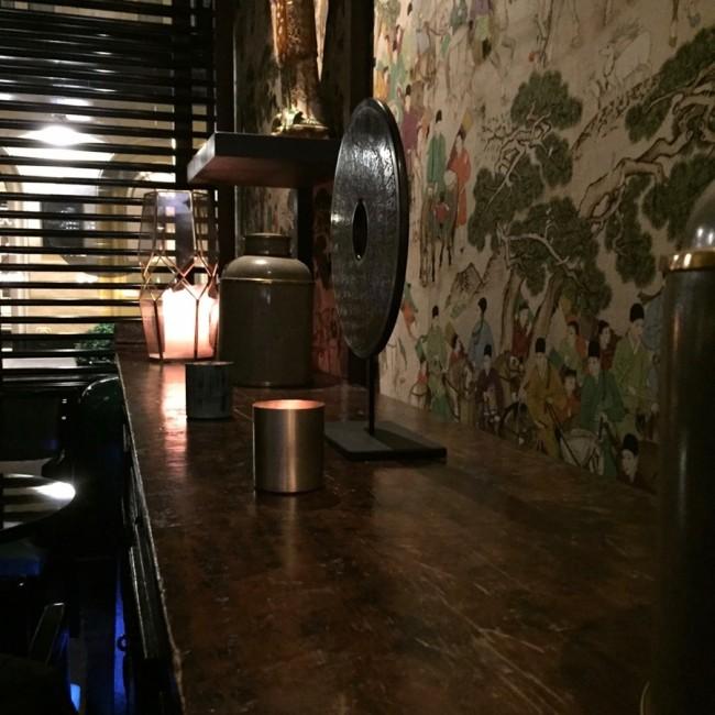 Dim & Dom Pérignon Dim Sum Renaissance Paris Vendôme Hotel bar