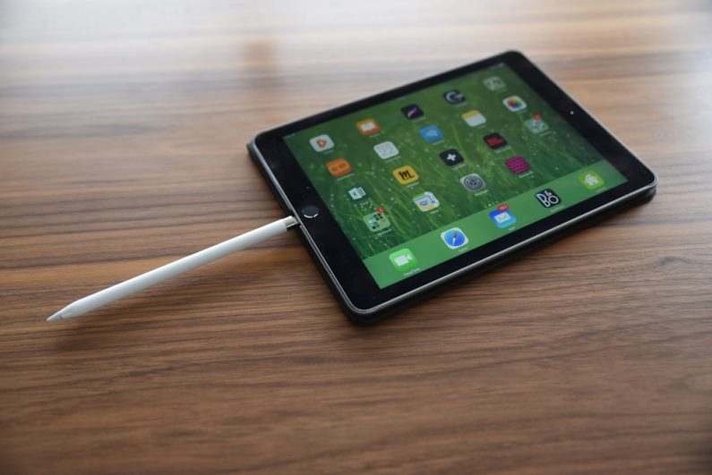 Test apple pencil iPad pro