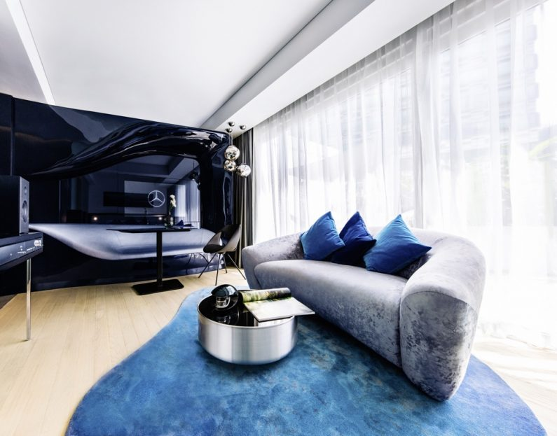 """""""Mercedes-Benz Living @ Fraser"""" now also in Singapore - Exclusive premium apartments for young business and leisure target groups. """"Mercedes-Benz Living @ Fraser"""" now also in Singapore - Exclusive premium apartments for young business and leisure target groups."""