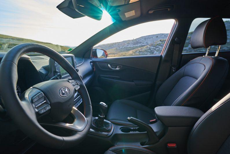 Essai Hyundai Kona intérieur test
