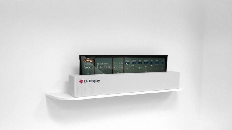 lg rollable 65 oled