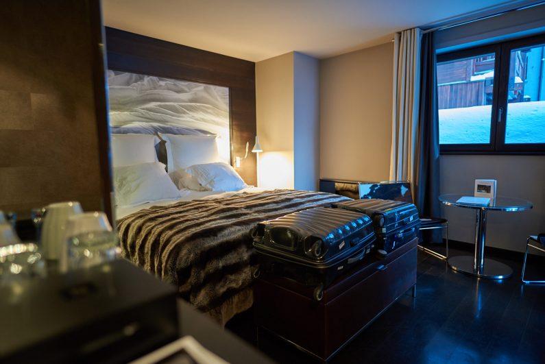 Avenue Lodge hotel luxe val d'Isère avis meilleur design  chambre