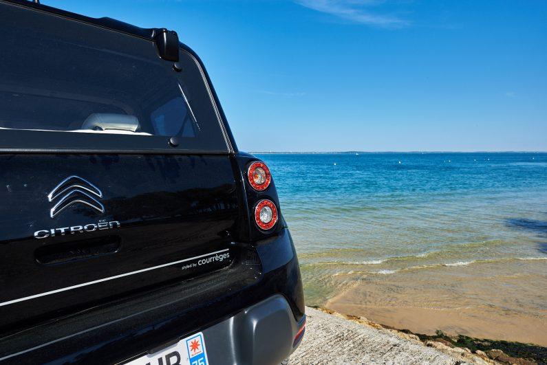 Citroën eMehari styled by Courrèges test essai