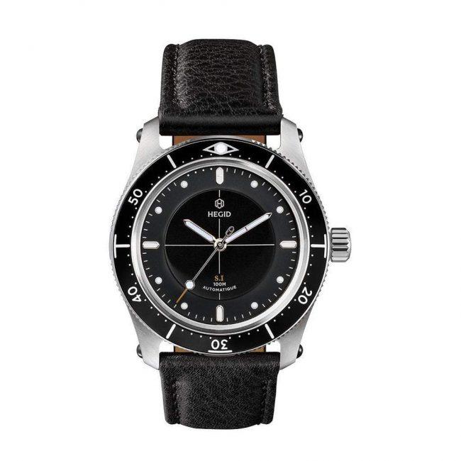 Hegid montre noire personnalisables modulaire