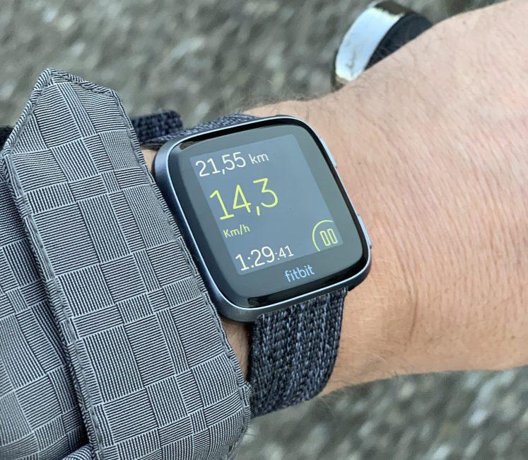 Test montre connectée Fitbit versa