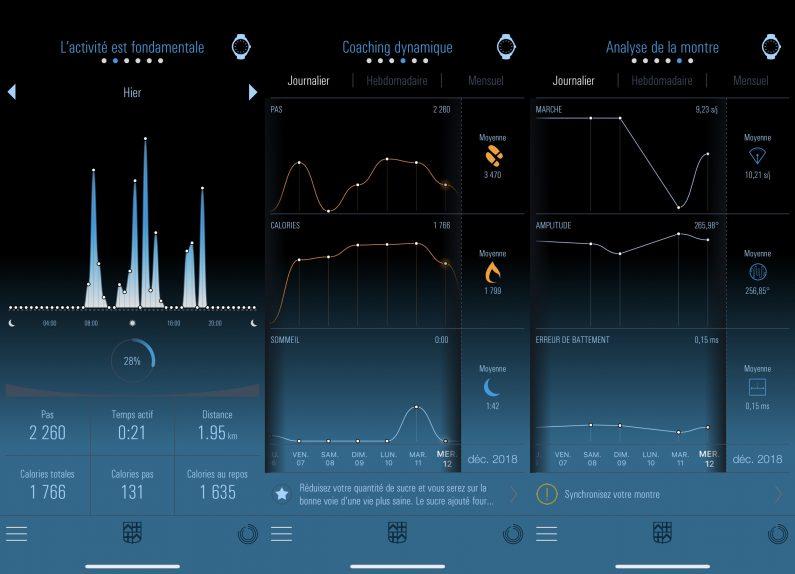 Frederique constant hybrid Manufacture test review montre connectée application iPhone