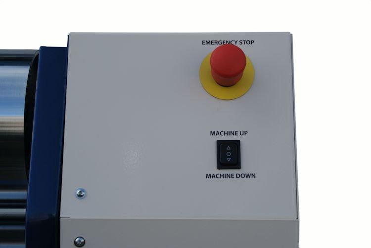 Dijatec siliconenwals MW-20 HV bedieningspaneel rechts