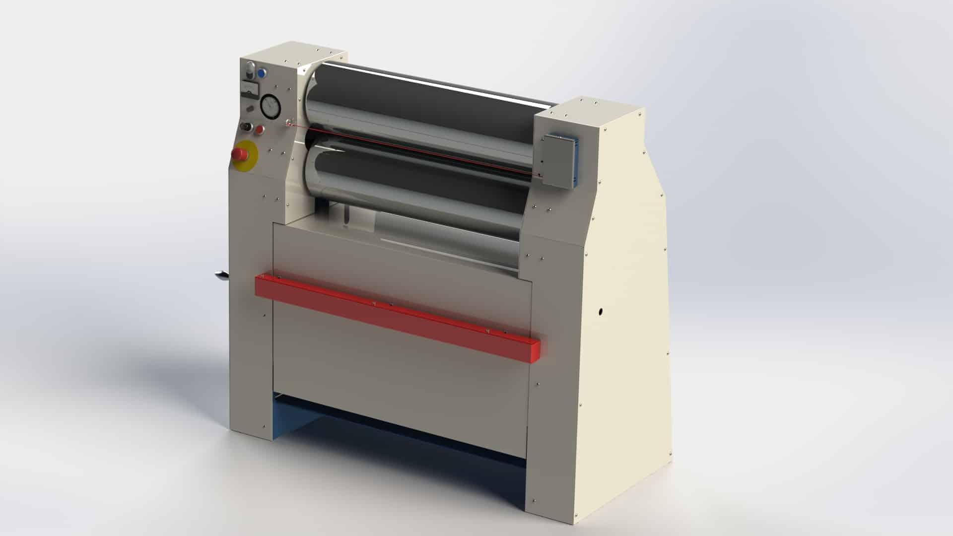 Dijatec electric two roll mill MW-20