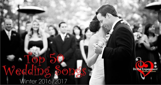 Most Popular Wedding Songs Of 2016 Orange County Wedding