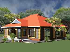 3 bedroom bungalow house in Kenya