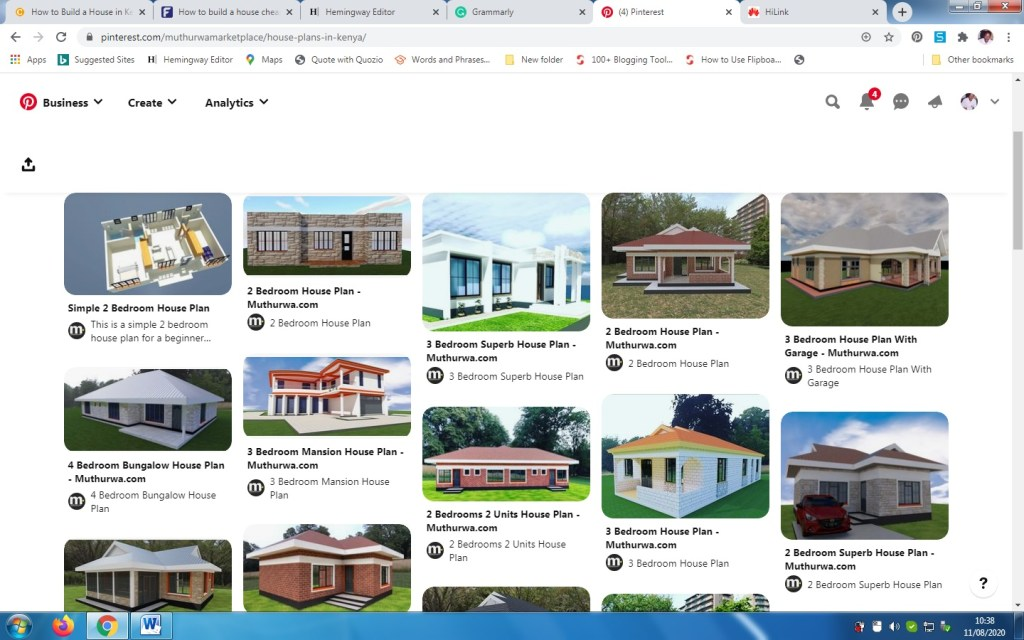 How to build a house in Kenya - house plans
